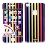 在庫処分大特価!!Upper&LIFE(アッパー&ライフ)iPhone4/4S スキンシール【LONDON MIX1】