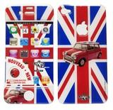 在庫処分大特価!!Upper&LIFE(アッパー&ライフ)iPhone4/4S スキンシール【USA&FLAG】