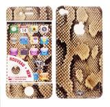 在庫処分大特価!!Upper&LIFE(アッパー&ライフ)iPhone4/4S スキンシール【SNAKE GOLD】