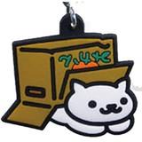 NEKO ATSUME Rubber Type Mobile Charm Cardboard Box