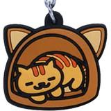 NEKO ATSUME Rubber Type Mobile Charm Chatora San