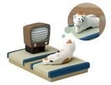 【6月上旬発売予定】concombre まったりシアター 三毛猫【ねこ】【ネコ】