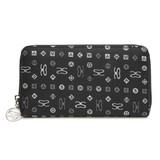 【SAVOY(サボイ)】ジャガード織り・サボイロゴ柄財布