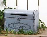 フレンチグレイレターボックス