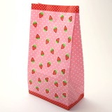 Square Bag Strawberry 100 Pcs