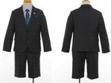 SALE 入学男の子フォーマル【MICHIKO LONDON】ブラックウォッチセットスーツ