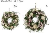 【春のリース】Wreath フィールドPink SS &S