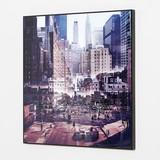 Pop Art Crystal Paint Series New York Landscape