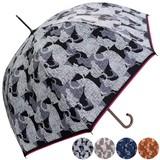 ★2016【春夏新作】ジャンプ傘★雨晴兼用 猫(ねこ)シルエットジャンプ傘♪【UV対策】99%カット♪