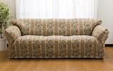 【直送可】【送料無料】日本製ゴブラン織 伸縮フィット式ソファカバー
