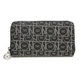 【SAVOY(サボイ)】ジャガード織・サボイロゴ幾何学柄財布