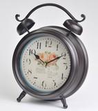 【お仕入れ10000円で送料無料♪♪】【アンティークベル風時計】