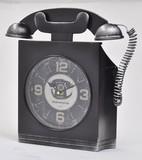 【8月21日から31日まで10%分引きセール!】【アンティーク電話時計】スクエア