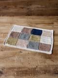【布製品】かぎ針編みマット (2色展開)