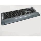 PC用品◆2.4GHZ/ワイヤレスキーボード&マウス◆ブラック/グレイ◆S-KW416MG-GR