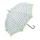 ≪2016春夏≫【雨傘】長傘  ボーダーマルセイユ