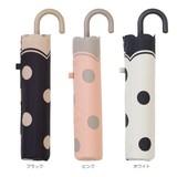 【雨傘】折傘  ドットヒートカット ミニ
