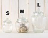 グラスジャー スポーク ☆Glass jar☆