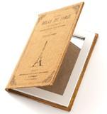 エッフェル塔 洋書モチーフのミラー