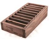 アンティーク仕上げの木製カードホルダー