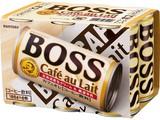 サントリー ボス カフェオレ 6缶パック 185X6 x5
