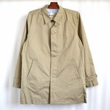 【2016春夏】springコート コットンツイル ステンカラー コート