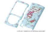 【Sanrio】WALKMANケース サンリオ・ハードジャケット マイメロディ/ブルー(RT-SRSS76A/MA)