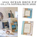 ■2016SS 新作■ OCEAN DECO P/F NATURAL/BLUE