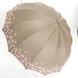 【晴雨兼用】スライドショート/軽量 多頭刺繍