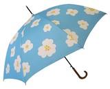 【レディース傘】UV加工雨晴兼用 大きな花柄60cmジャンプ傘