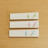 ラベンダー スリム箸置珍味入 (緑/水色/ピンク)
