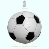 パーティーバルーン 風船 3D サッカーボールバルーン norTH STAR BaLLoons