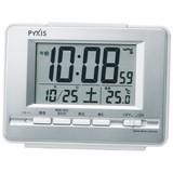 訳あり特価!セイコー製ピクシス デジタル電波目ざまし時計 NR535W