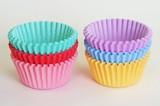 Cup Color Plain Assort 80 Pcs 6 Colors 30 Pcs