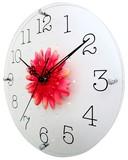 〈予約販売〉【直送可】新生活応援 アートフラワークロック 掛け時計 【日本製】