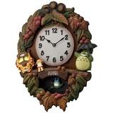 新品!リズム時計製 トトロ鳩時計 4MJ429-M06