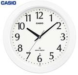 夜見えライト搭載電波壁掛け時計<掛時計・景品・ノベルティ・フルブライト・時報>
