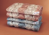【直送可】【送料無料】中央増量敷布団 英国羊毛(ステッキマークゴールドラベル)