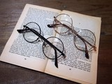 伊達めがね(120C)/眼鏡/メガネ/ファッショングラス/レディース/メンズ/丸メガネ