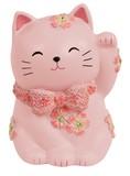 【 さくらシリーズ 】 招き猫のミニ貯金箱