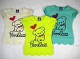 【16春夏物新作】【Bateau Bleue】Dog柄Tシャツ(半袖)