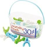 SUNNY ランドリーピンチ 30PCS ブルー【洗濯ばさみ】【洗濯バサミ】
