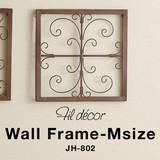 そっけない壁面を、自由で華やかなアートに【フィルデコール・ウォールフレーム・M】