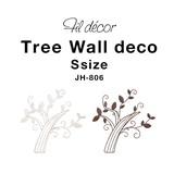 そっけない壁面を、自由で華やかなアートに【フィルデコール・ツリーウォールデコ・S】
