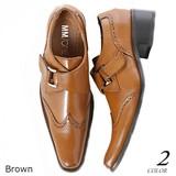 Excellent カジュアル メンズ その他靴シューズ ウイングチップモンクストラップビジネスシューズ 620000
