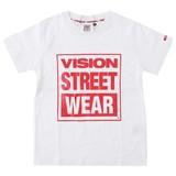 【2016年春夏新作】【VISION】キッズ マグロゴプリント半袖Tシャツ