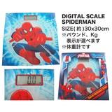 【スパイダーマン/アメ雑】デジタル スケール スパイダーマン/体重計/インテリア