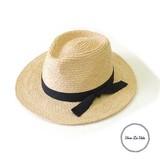 【SALE】【春夏新作】[帽子]人気につき再入荷◎ RAFFIA フラットブリムハット アペルト