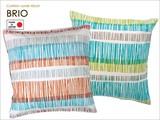 【ブリオ】 クッションカバー 45×45cm ビビット 綿100%