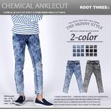 2016 S/S Stretch Denim Skinny Ankle Cut Pants